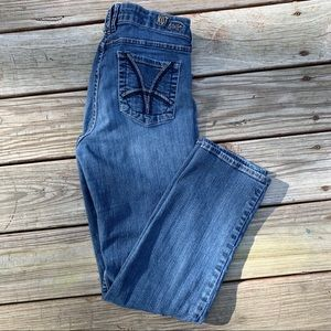 Kut from the Kloth Low Rise Tapered Leg Jeans 10